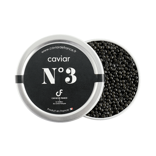Caviar De France : Boite Caviar N 3
